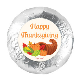 "Bonnie Marcus Cornucopia Thanksgiving 1.25"" Stickers (48 Stickers)"