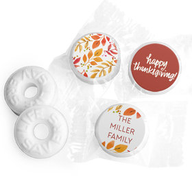 Personalized Life Savers Mints - Thanksgiving Fall Foliage
