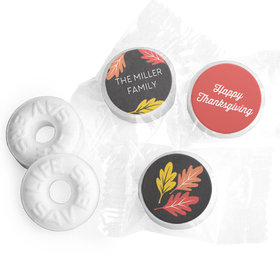 Personalized Life Savers Mints - Thanksgiving Thankful Chalkboard