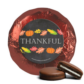 Bonnie Marcus Thankful Chalkboard Thanksgiving Chocolate Covered Oreos