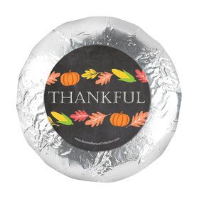 "Bonnie Marcus Thankful Chalkboard Thanksgiving 1.25"" Stickers (48 Stickers)"