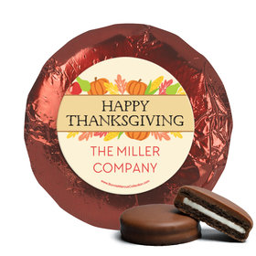 Personalized Bonnie Marcus Happy Harvest Thanksgiving Chocolate Covered Oreos