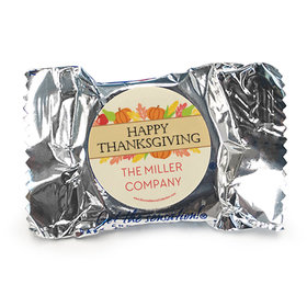 Personalized Bonnie Marcus Happy Harvest Thanksgiving York Peppermint Patties