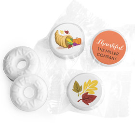 Personalized Life Savers Mints - Thanksgiving Bountiful Thanks