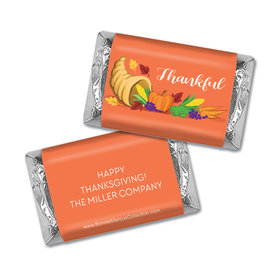 Personalized Bonnie Marcus Bountiful Thanks Thanksgiving Mini Wrappers Only