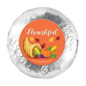 "Bonnie Marcus Bountiful Thanks Thanksgiving 1.25"" Stickers (48 Stickers)"