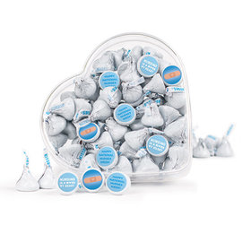 Bonnie Marcus Collection Nurse Appreciation Bandage Clear Heart Box with Hershey's Kisses 13oz