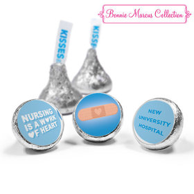 Personalized Bonnie Marcus Collection Nurse Appreciation Hearts Hershey's Kisses (50 Pack)