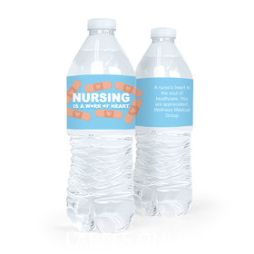 Bonnie Marcus Collection Nurse Appreciation Bandage Water Bottle Sticker Labels (5 Labels)