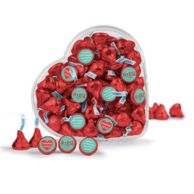 Bonnie Marcus Collection Nurse Appreciation Heart Stethoscope Clear Heart Box with Hershey's Kisses 13oz