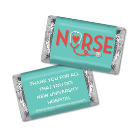 Personalized Bonnie Marcus Collection Nurse Appreciation Red Heart Mini Wrappers
