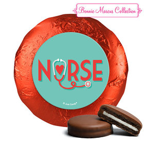 Bonnie Marcus Collection Nurse Appreciation Red Heart Chocolate Covered Oreos (24 Pack)