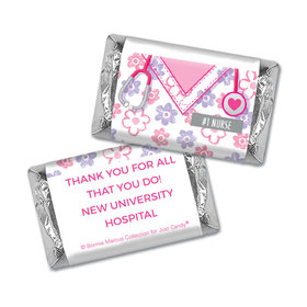 Personalized Bonnie Marcus Collection Nurse Appreciation Flowers Mini Wrappers