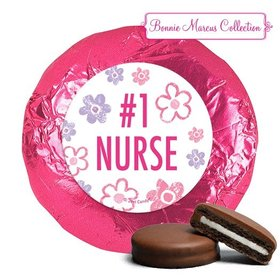 Bonnie Marcus Collection Nurse Appreciation Flowers Milk Chocolate Covered Oreos (24 Pack)