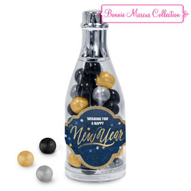 Bonnie Marcus Midnight Celebration New Year's Eve Champagne Bottle with Sixlets Candies