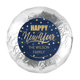 """Personalized New Year's Midnight Celebration 1.25"""" Stickers (48 Stickers)"""