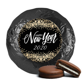 Personalized New Year's Bubbles Milk Chocolate Covered Oreo Cookies (24 Pack)