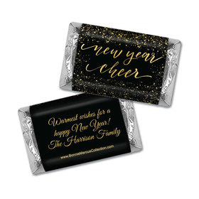Personalized Bonnie Marcus New Year Cheer Christmas Mini Wrappers Only