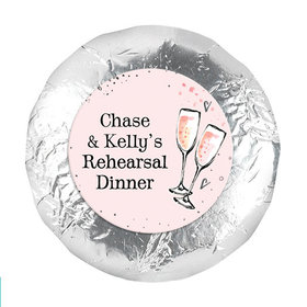 The Bubbly Rehearsal Dinner Favors 1.25in Stickers