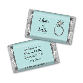 Last Fling Rehearsal Dinner Personalized Miniature Wrappers
