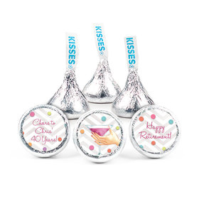 Here's to Your Retirement HERSHEY'S KISSES Candy Assembled