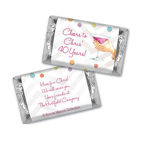 Here's to You Retirement Personalized Miniature Wrappers