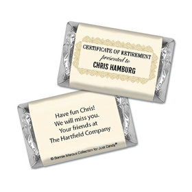 Personalized Bonnie Marcus Collection Retirement Certificate Miniature Wrappers Only
