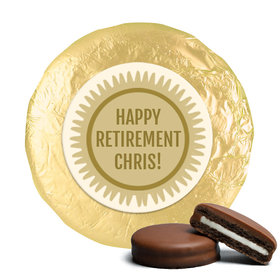 Personalized Bonnie Marcus Collection Retirement Certificate Assembled Belgian Chocolate Covered Oreos (24 Pack)