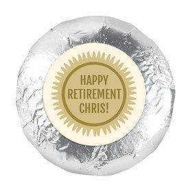 "Personalized Bonnie Marcus Collection Retirement Certificate 1.25"" Stickers (48 Stickers)"