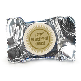 Personalized Bonnie Marcus Collection Retirement Certificate Assembled York Peppermint Patties (84 Pack)