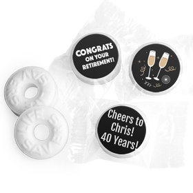 Personalized Bonnie Marcus Collection Retirement Cheers Assembled Life Savers Mints