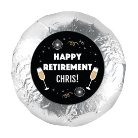 """Personalized Bonnie Marcus Retirement Cheers 1.25"""" Stickers (48 Stickers)"""