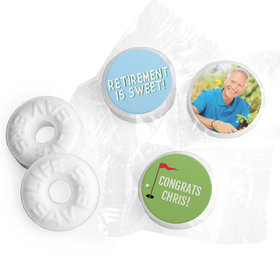Personalized Bonnie Marcus Collection Retirement Gone Golfin' Assembled Life Savers Mints