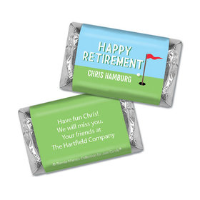Personalized Bonnie Marcus Collection Retirement Gone Golfin' Miniature Wrappers Only