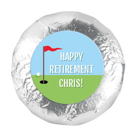 "Personalized Bonnie Marcus Collection Retirement Gone Golfin' 1.25"" Stickers (48 Stickers)"