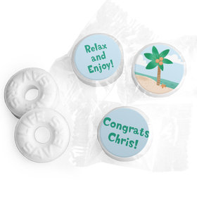Personalized Bonnie Marcus Collection Retirement Beach Assembled Life Savers Mints