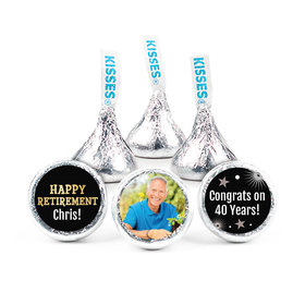 Personalized Bonnie Marcus Collection Retirement Fireworks Assembled Hershey's Kisses (50 Pack)