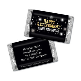 Personalized Bonnie Marcus Collection Retirement Fireworks Miniature Wrappers Only