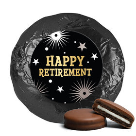Personalized Bonnie Marcus Collection Retirement Fireworks Assembled Belgian Chocolate Covered Oreos (24 Pack)