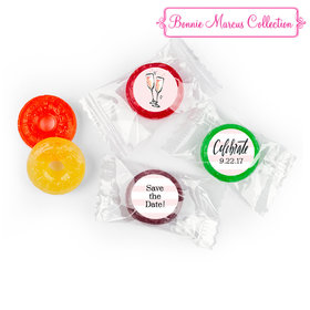 The Bubbly Personalized Save the Date LIFE SAVERS 5 Flavor Hard Candy Assembled