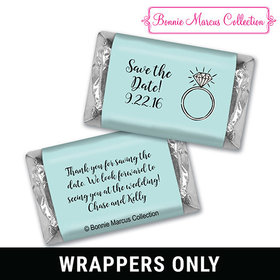 Bonnie Marcus Collection Wrapper Last Fling Save the Date Favor