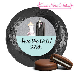 Forever Together Save the Date Favor Milk Chocolate Covered Oreo Assembled (24 Pack)