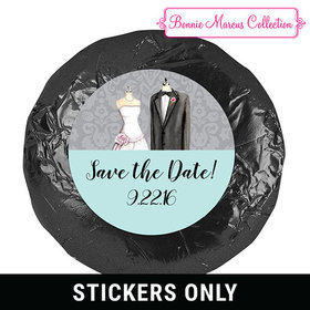 Forever Together Save the Date Favor 1.25in Stickers