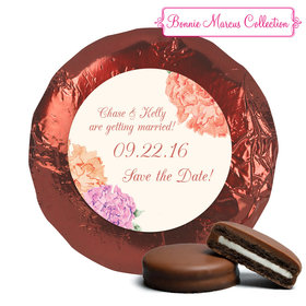 Blooming Joy Save the Date Favors Milk Chocolate Covered Oreo Assembled (24 Pack)