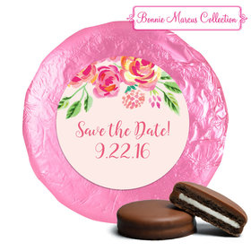 In the Pink Save the Date Favors Belgian Chocolate Covered Oreo Assembled (24 Pack)