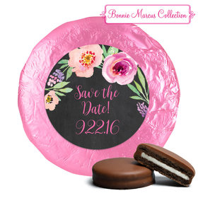 Bonnie Marcus Collection Wedding Save the Date Favors Milk Chocolate Covered Oreo Cookies