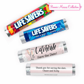 Personalized Engagement Bubbly Lifesavers Rolls (20 Rolls)