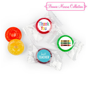 Bonnie Marcus Collection Teacher Appreciation Colorful Thank You Life Savers 5 Flavor Hard Candy