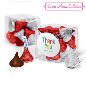 Bonnie Marcus Collection Teacher Appreciation Colorful Thank You Clear Gift Box