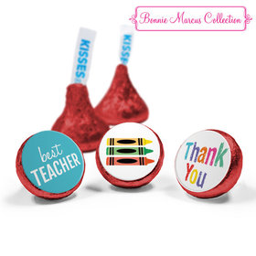 Bonnie Marcus Collection Teacher Appreciation Colorful Thank You Hershey's Kisses (50 Pack)